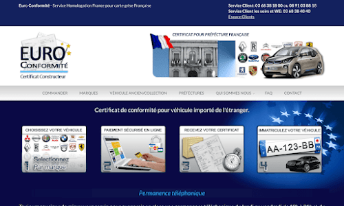 Certificat de conforité européen : Euro Conformité France